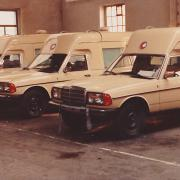 Nos ambulances Mercedes